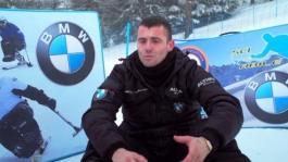 ITW Emiliano Malagoli, pilota dell'Althea BMW Racing Team