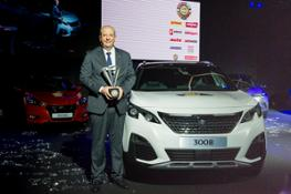 Geneva International Motor Show 2017 Car of the Year Peugeot 3008
