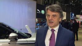IV Dr Ralf Speth CEO JLR Geneva Motor Show 2017