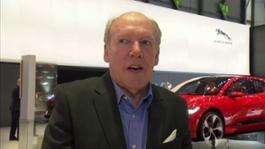 IV Ian Callum Director of Design JLR Geneva Motor Show 2017