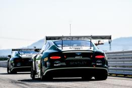 Bentley kicks off season with a second 06