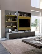 SMART LIVING- Wall unit tv stand SMART LIVING