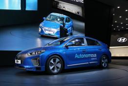 Hyundai at Seoul Motor Show 1 Autonomous IONIQ