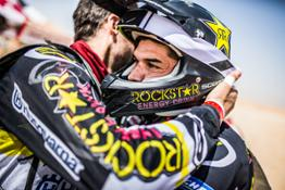 Rockstar Energy Husqvarna Factory Racing Team's Quintanilla takes second overall in desert challenge