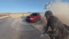 Nissan Rogue Star Wars360-degree VR 01
