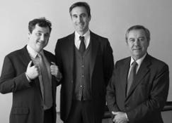 Luca Marzotto Vicepresidente-Ettore Nicoletto Amministratore Delegato-Gaetano Marzotto Presidente