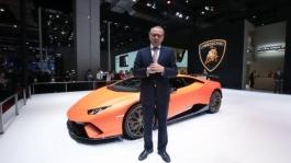 Mr. Stefano Domenicali is talking about the highlights of Huracan Performante part2