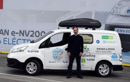 426189491 All electric Nissan e NV200 goes on tour driving 10 000 km across Europe s