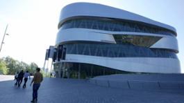 MUSEO MERCEDES Audax Milano Stoccarda Maggio2017