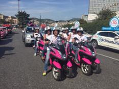 2015 - Il nuovo Yamaha TMAX moto ufficiale del Giro d'Italia