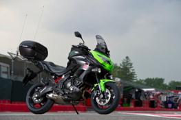 2016 - La Kawasaki Versys 650 è la moto ufficiale del Giro D'Italia