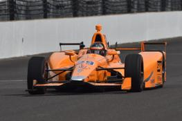 Fernando Alonso, Indianapolis 500 Test - Wednesday, May 3, 2017
