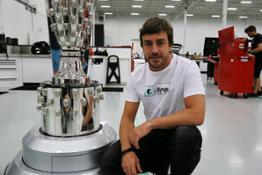 Fernando Alonso Seat Fitting - April 24, 2017