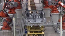 154643 Pre production of the all new Volvo XC90 in Torslanda