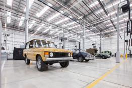 Land Rover Reborn Legends