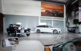 SS1 and New Jaguar XF Sportbrake