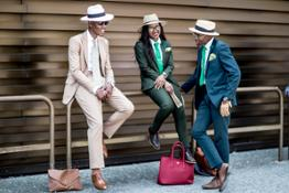 A street style view by Vincenzo Grillo
