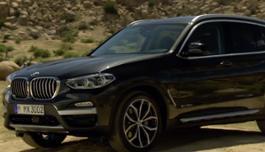 The new BMW X3 30d xLine. Exterior Design