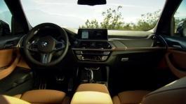 The new BMW X3 M40. Interior Design