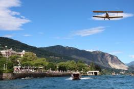 Passaggio velivoli storici Foto Maccione