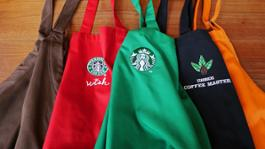 Starbucks Apron collection (1)