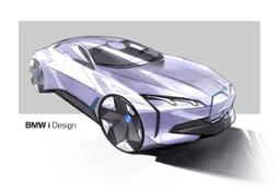 BMW i Vision Dynamics. Sketches.