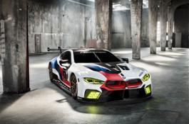 BMW M8 GTE.
