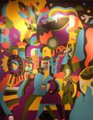 Starbucks Art-East Village NY