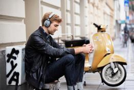 Panasonic Headphones (RP-HTX80B) Lifestyle Images