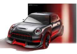 MINI John Cooper Works GP Concept. Design sketches
