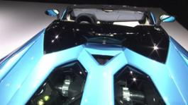 New Lamborghini Aventador S Roadster - Beauty Shots (Interiors)