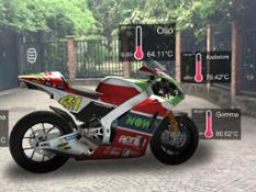 01 Aprilia AR - telemetric data