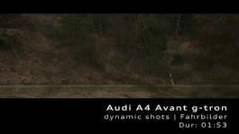 Audi A4 Avant g-tron - Footage