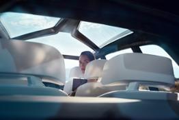 BMW Concept X7 iPerformance. Interieur.
