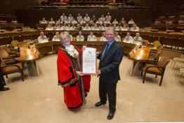 426204366 Nissan workforce granted Freedom of the City of Sunderland