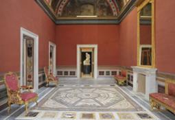 TEATRO salone-foyer detto della Guerra di Troia
