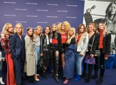 Gigi Hadid and influencers in Copenhagen, Denmark
