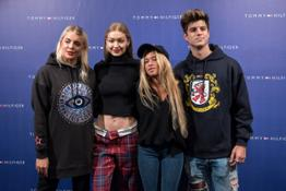 Gigi Vives, Gigi Hadid, Andrea Belver, Alejandro Lillo - Tommy Hilfiger - Together Tour with Gigi Hadid 2