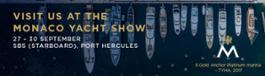 Monaco Yacht Show Banner