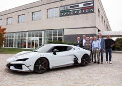 Lismont e il team Italdesign