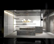 Stand Antolini a Marmomac - area kitchen