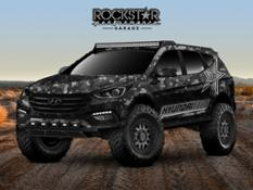 48887 HYUNDAI ENERGIZES THE 2017 SEMA SHOW WITH ROCKSTAR ENERGY MOAB EXTREME OFF