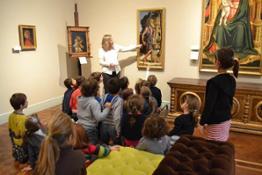 Visita dei bambini al Museo Poldi Pezzoli