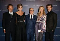 Daniel Grieder, Sandra Schildknecht, Tommy and Dee Hilfiger and Andrew Garfield at the 13th annual Zurich Film Festival