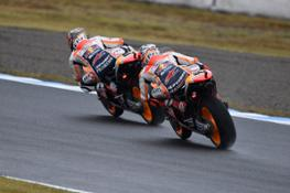 Pedrosa and Marquez ÔÇô Motegi
