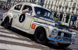 215654 Heritage 14 Volvo PV544 Rally Safari Replica