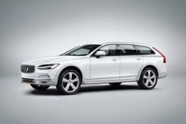 215848 Volvo V90 Cross Country Volvo Ocean Race exterior