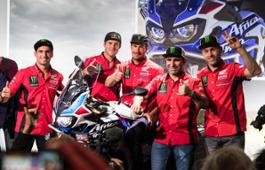 Monster Energy Honda Team joins the HRC teams in Milan