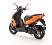 Speedfight 50 Pulsar Orange (footboard is black as standard)