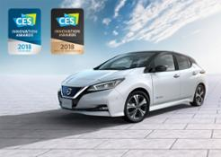 426211132 New Nissan LEAF wins first international award